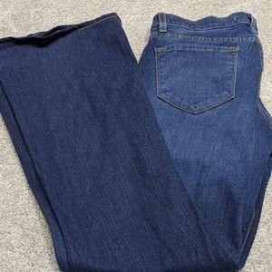 JBrand Wide Leg Jean's